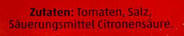 Tomaten passiert - Ingrédients