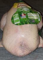 poulet fermier biologique - Produit - fr