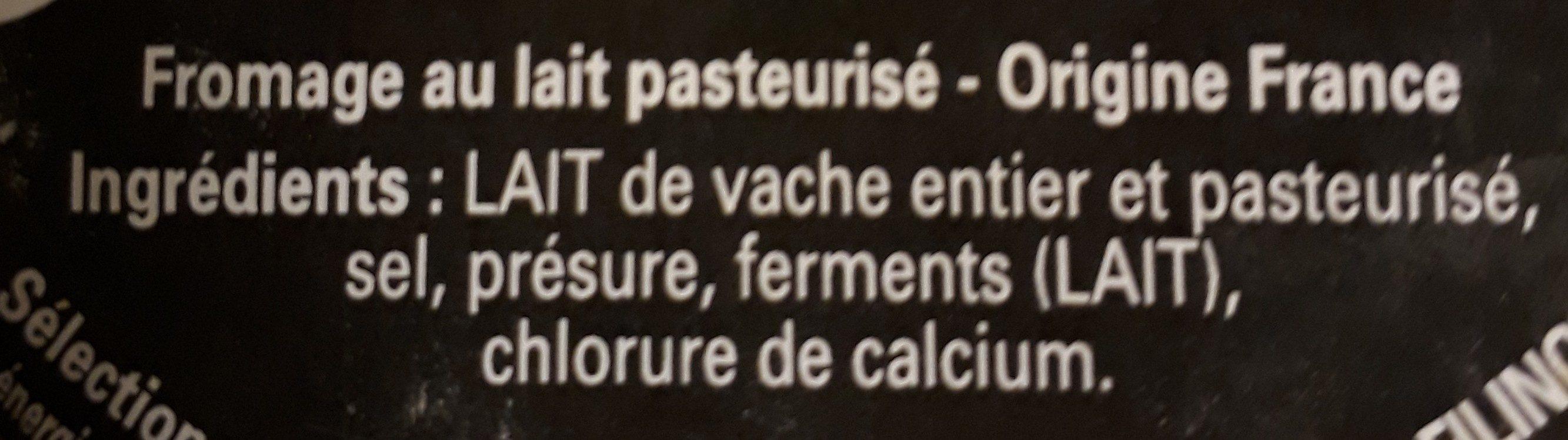 Tommettes des Alpes env 300G - Ingredients - fr