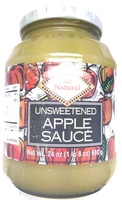 Unsweetened apple sauce - Product