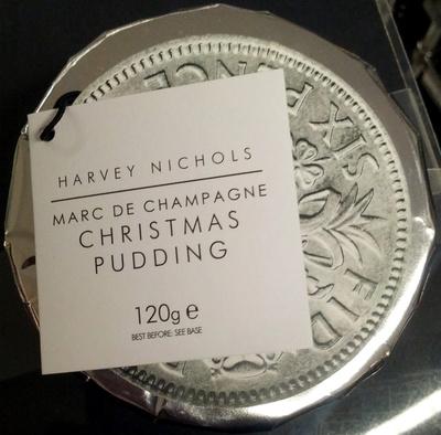 Marc de Champagne Christmas Pudding - Product - en