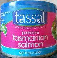 Premium Tasmanian Salmon Springwater - Product