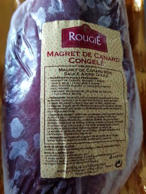 magret de canard  congelé - Produit - fr