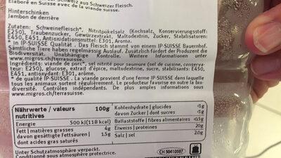 Prosciutto extrafin - Prodotto - fr