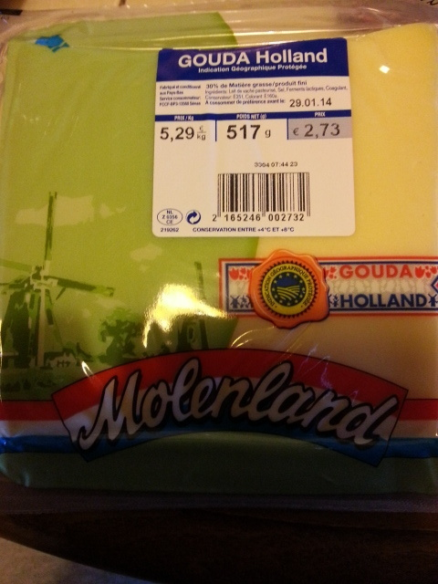Gouda Holland IGP (30 % MG) - Product