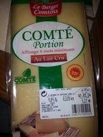 Comté Portion - Affinage 6 mois minimum au lait cru - Produit - fr