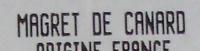 Magret de Canard - Ingrédients - fr