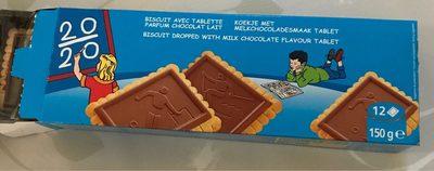 Biscuit avec tablette parfum chocolat - Product - fr