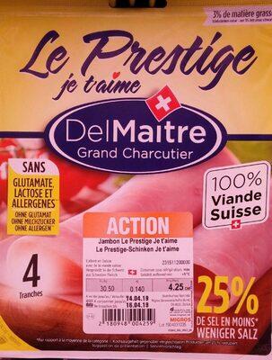 Le Prestige jambon - Produkt - fr
