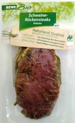 Schweine-Rückensteaks Kräuter - Product