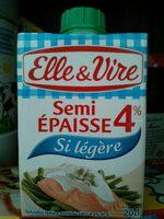 Spécialité laitière semi épaisse 4% - Product - fr
