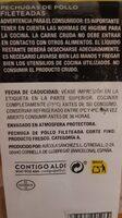 Pollo El Mercado Aldi - Informations nutritionnelles - es
