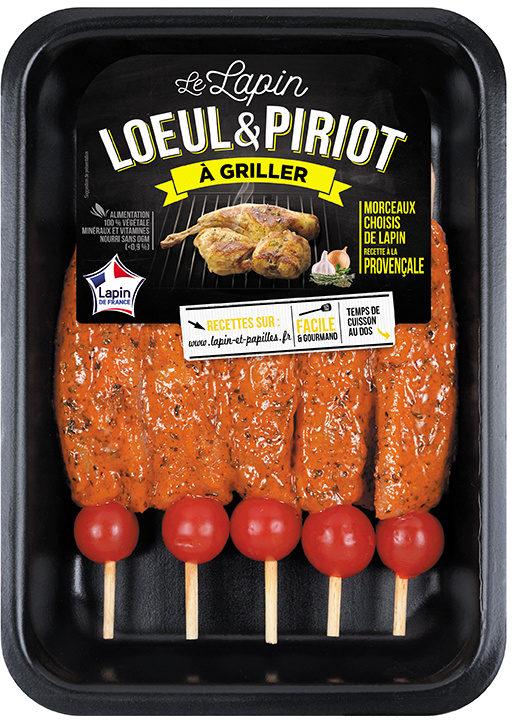 5 Brochettes de filets de lapin à la provençale - Product