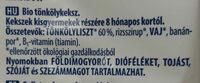 Bio tökölykeksz - Ingredients - hu