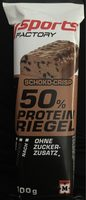 Sports Factory 50% Protein Riegel - Product