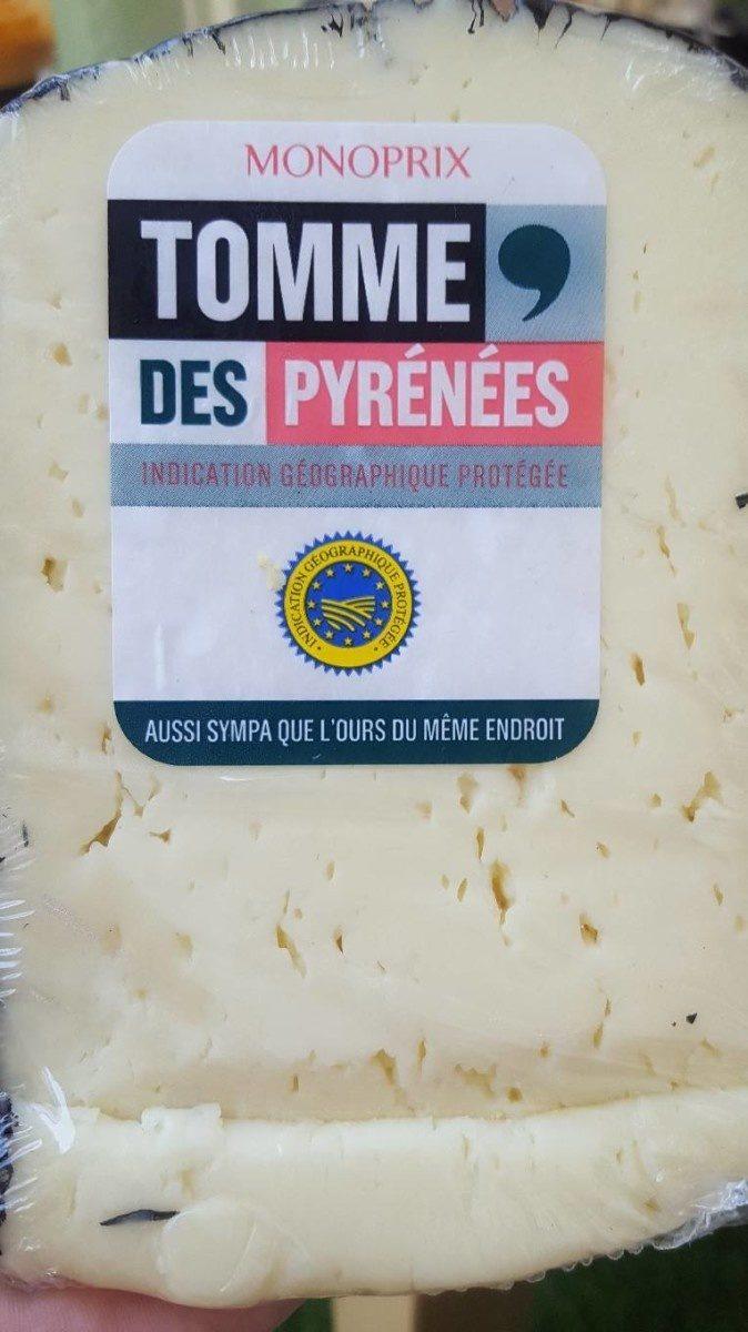 Tomme des Pyrénées - Prodotto - fr