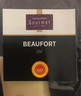 Beaufort été - Produit