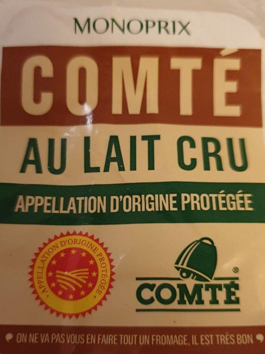 Comté au lait cru AOP - Produit - fr