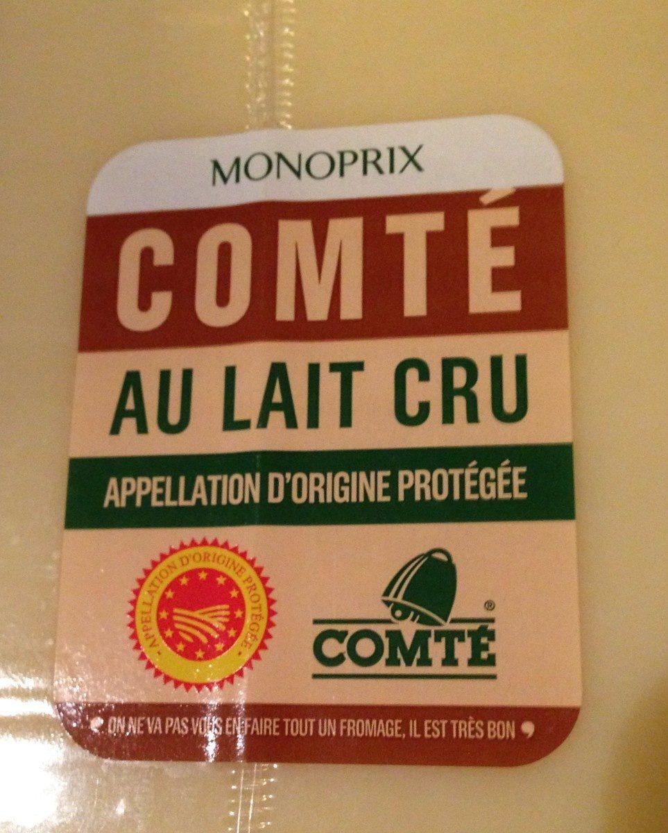 COMTÉ AU LAUT CRU AOC - Produit - fr