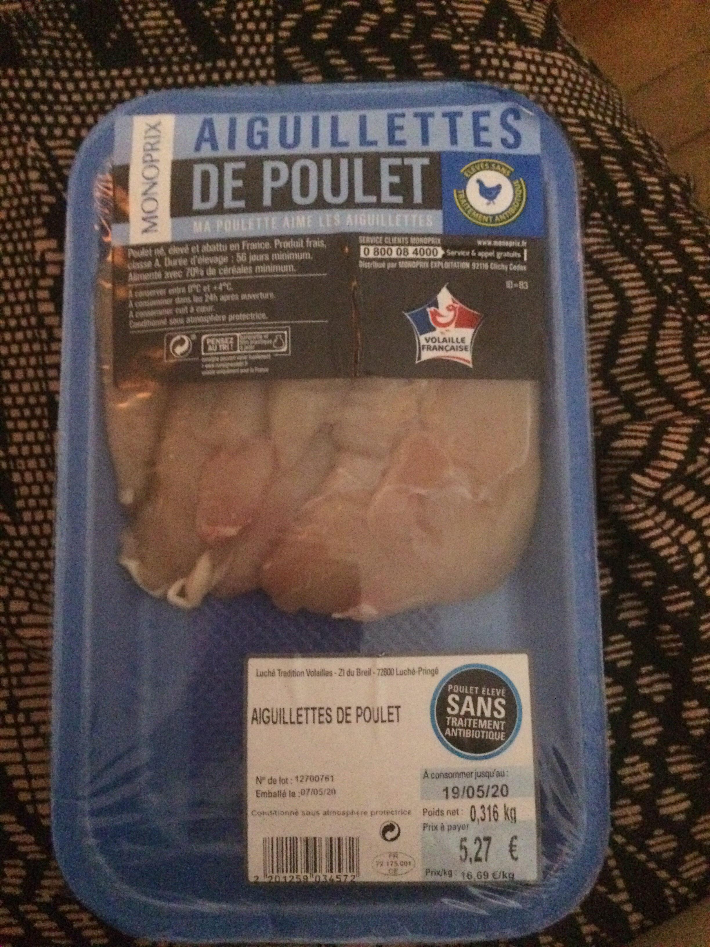 Aiguillettes de poulet - Produit - fr