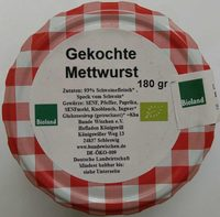 Gekochte Mettwurst - Produit - de