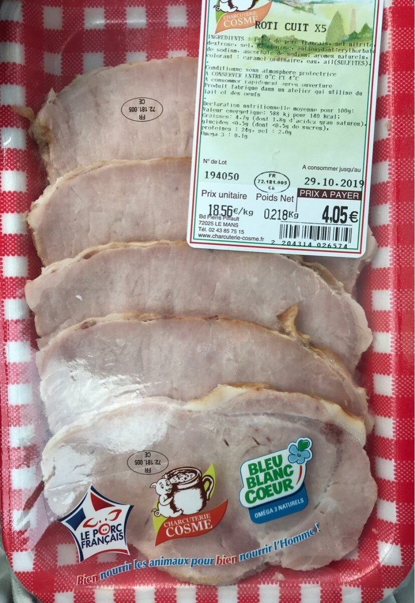 Roti cuit - Product