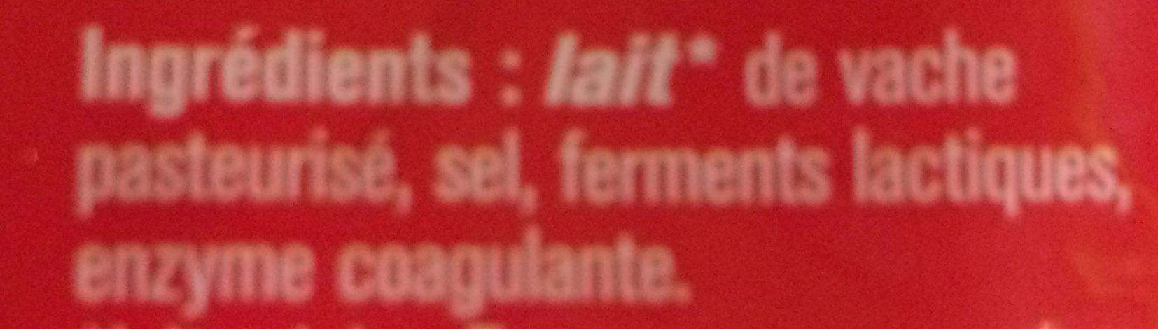 Emmental francais - Ingredients