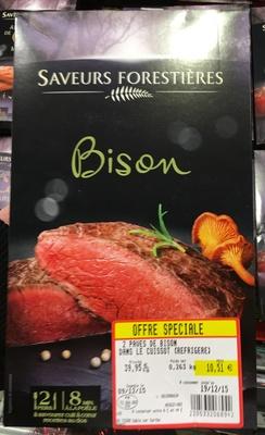 Bison (2 Pavés de Bison dans le Cuissot) - Produit - fr