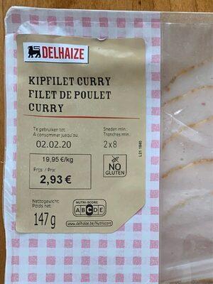 filet de poulet curry - Kipfilet curry - Product - fr