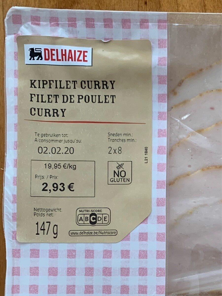filet de poulet curry - Kipfilet curry - Product