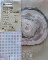 Côte de porc grillée - Product - fr