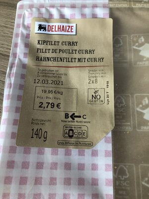 Filet de poulet curry - Product - fr
