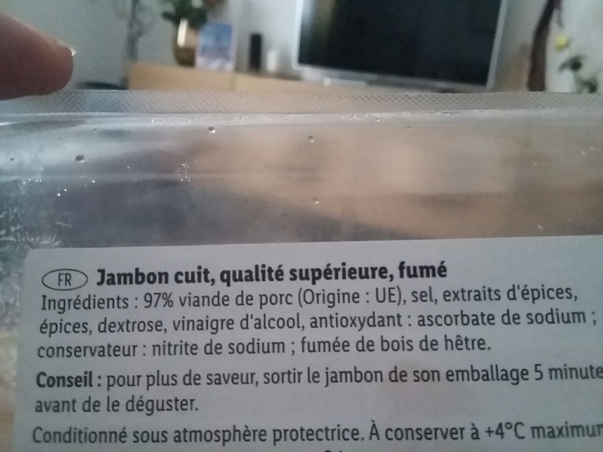 Jambon traditionnel - Ingredients - fr