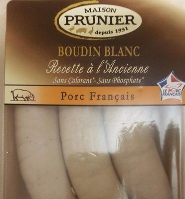 Boudin blanc recette a l'ancienne - Produit - fr