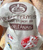 Poulet fermier l'Orléanais Label Rouge - Prodotto - fr