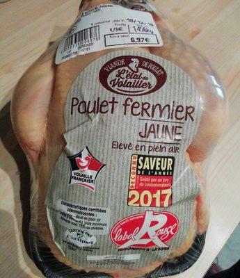 Poulet jaune fermier label rouge - Prodotto - fr