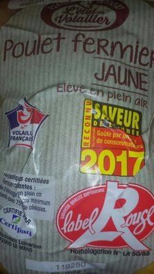 Poulet fermier jaune - Product - fr