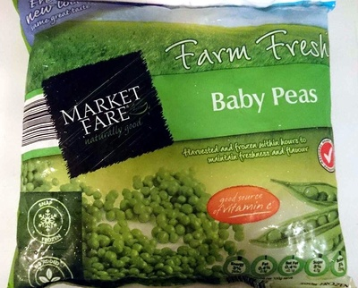 Farm Fresh Baby Peas - Product - en
