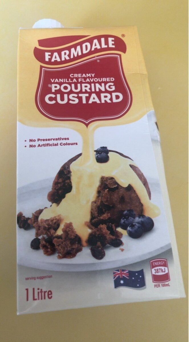 Farmdale Pouring Custard Creamy Vanilla Flavour - Product - en