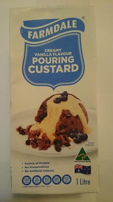 Farmdale Pouring Custard Creamy Vanilla Flavour - Product