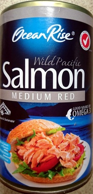 Wild Pacific Salmon Medium Red - Product