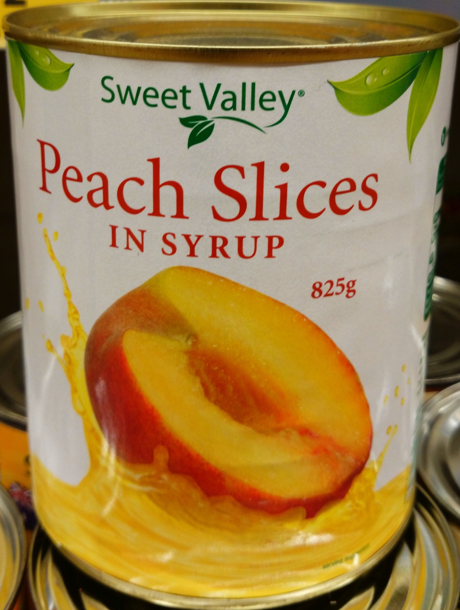 Sweet Valley Peach Slices in Syrup - Produit