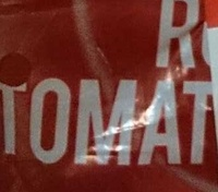Roma Tomatoes - Ingredients
