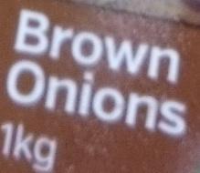 Brown Onions - Ingrédients - en