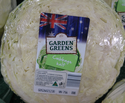 Cabbage Half - Product