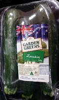 Fresh Zucchini - Product