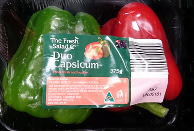Fresh Duo Capsicum - Product - en