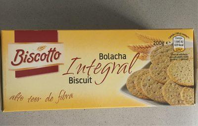 Bolacha integral - Produit - fr