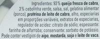 Primello - Cabra com Ervas Aromáticas - Ingredients - pt
