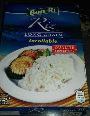 Riz long grain incollable - Product - fr